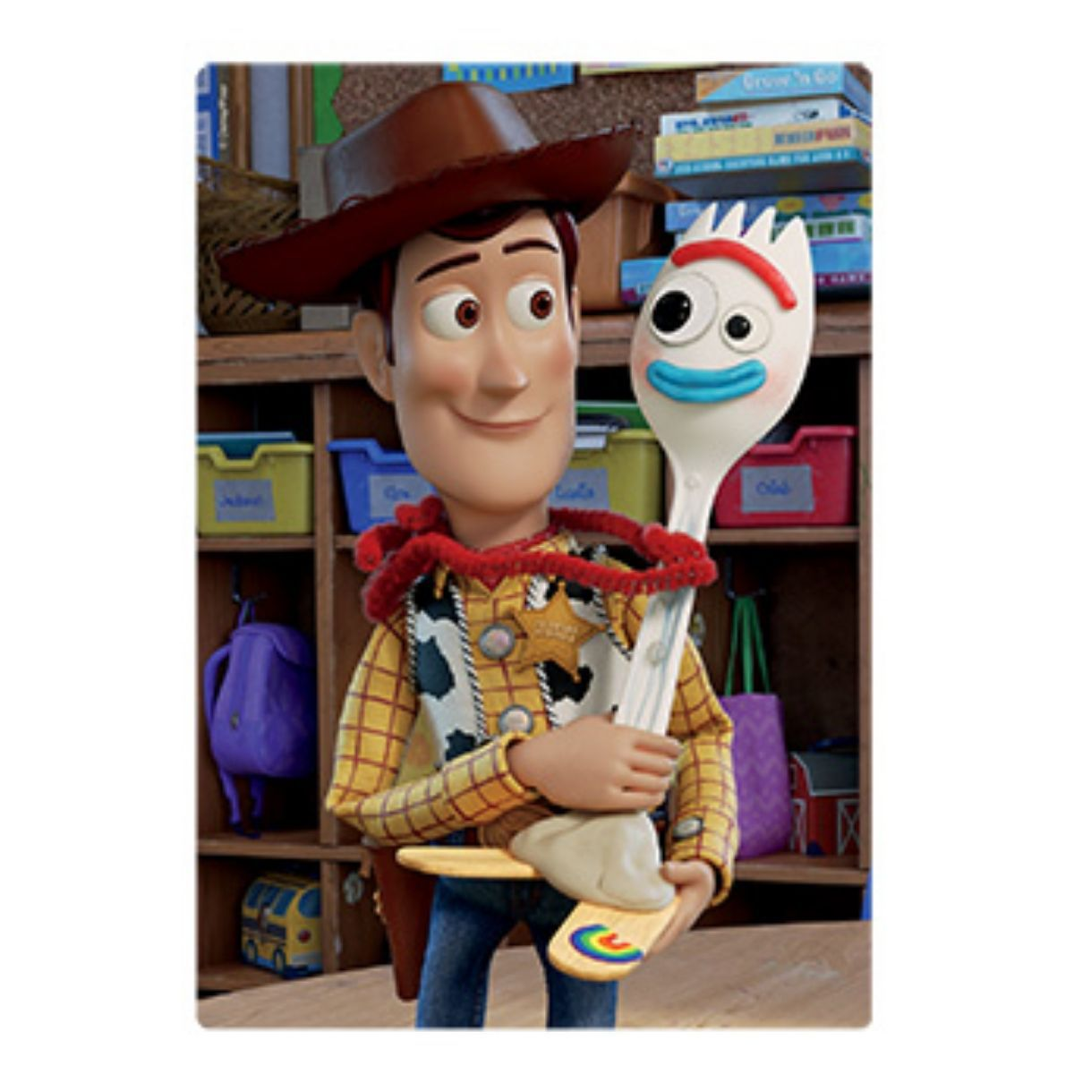 Quebra Cabeça Infantil 60 peças Toy Story Woody  - Game Land Brinquedos