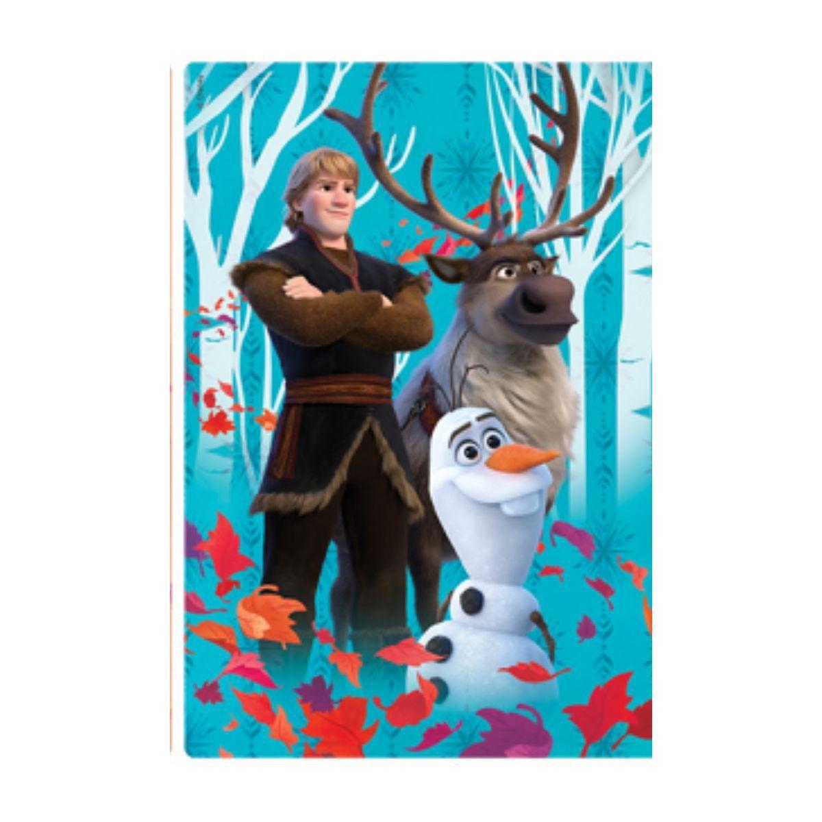 Quebra Cabeça Infantil Frozen 2  Olaf Kristoff e Sven 60 peças  - Game Land Brinquedos