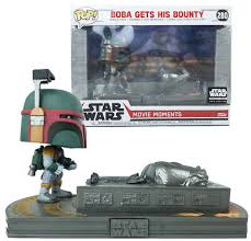 Star Wars Boba Gets His Bounty Funko Movie Moments 280  - Game Land Brinquedos
