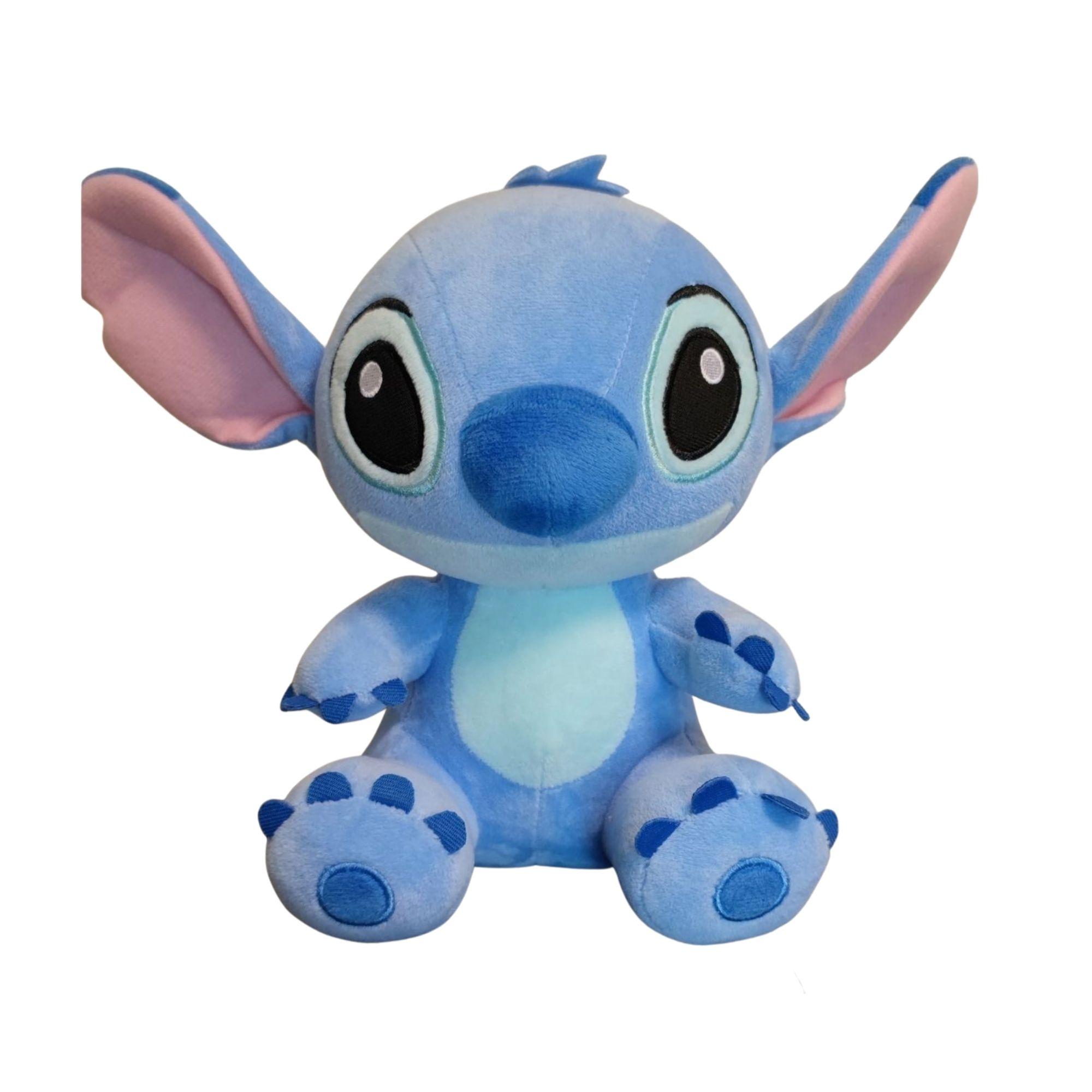 Stitch de Pelúcia Grande do Filme Lilo & Stitch 30 cm  - Game Land Brinquedos