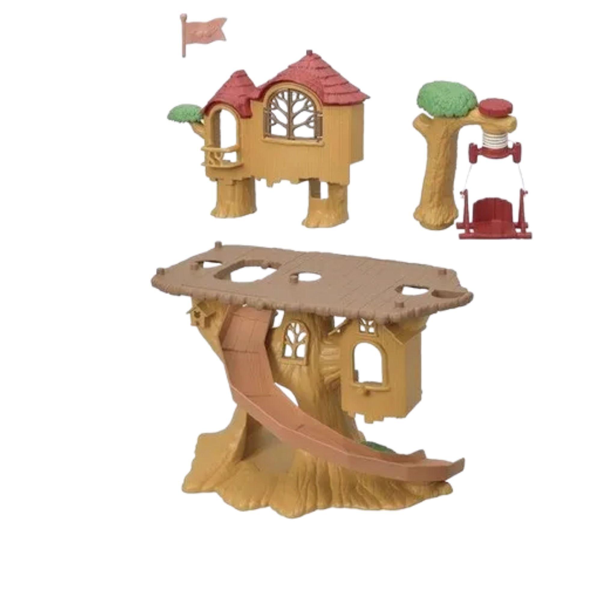 Sylvanian Families Conjunto Aventura Casa na Árvore Epoch 5450  - Game Land Brinquedos