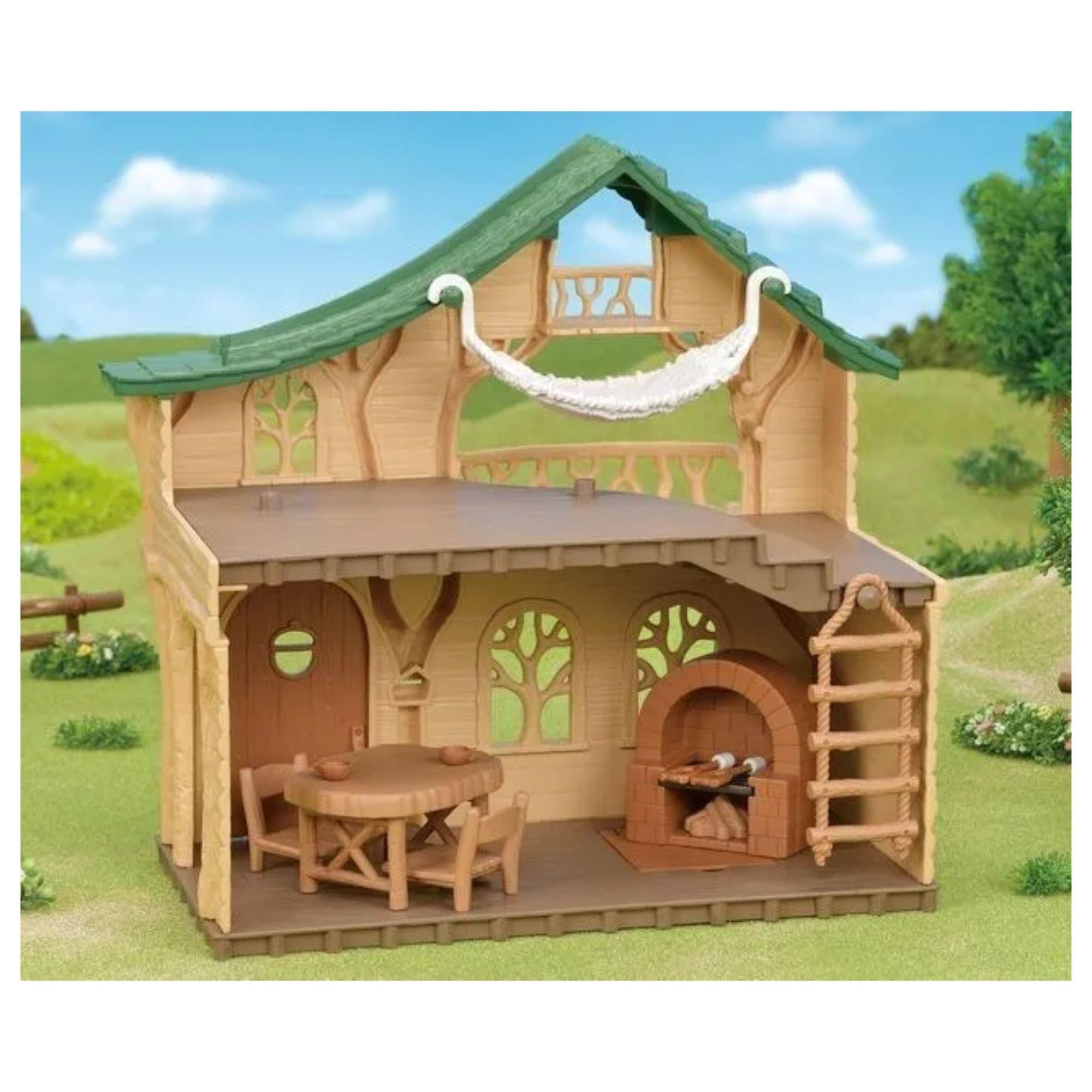 Sylvanian Families Conjunto Cabana no Lago Epoch Magia 5451  - Game Land Brinquedos