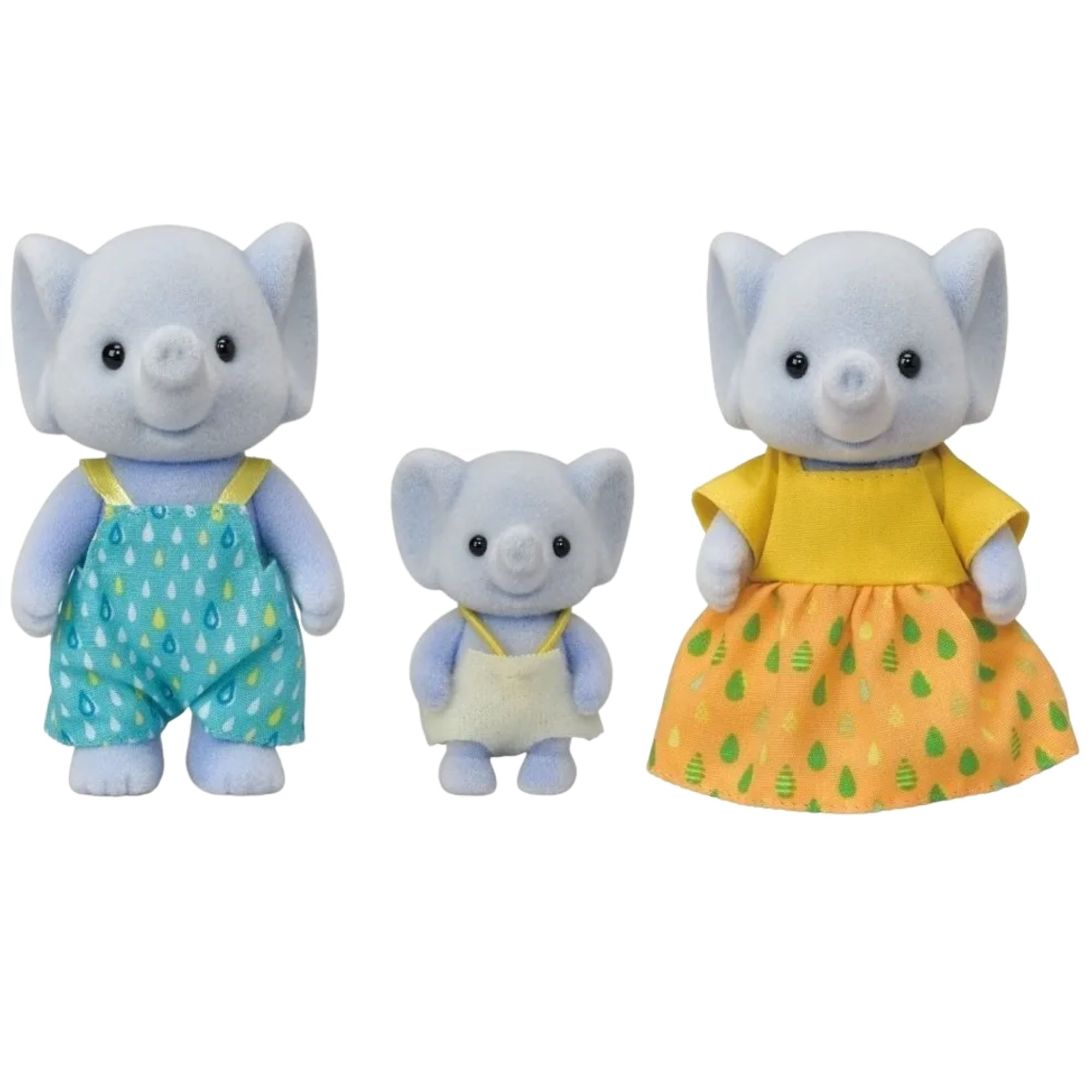Sylvanian Families Epoch Familia dos Elefantes  - Game Land Brinquedos