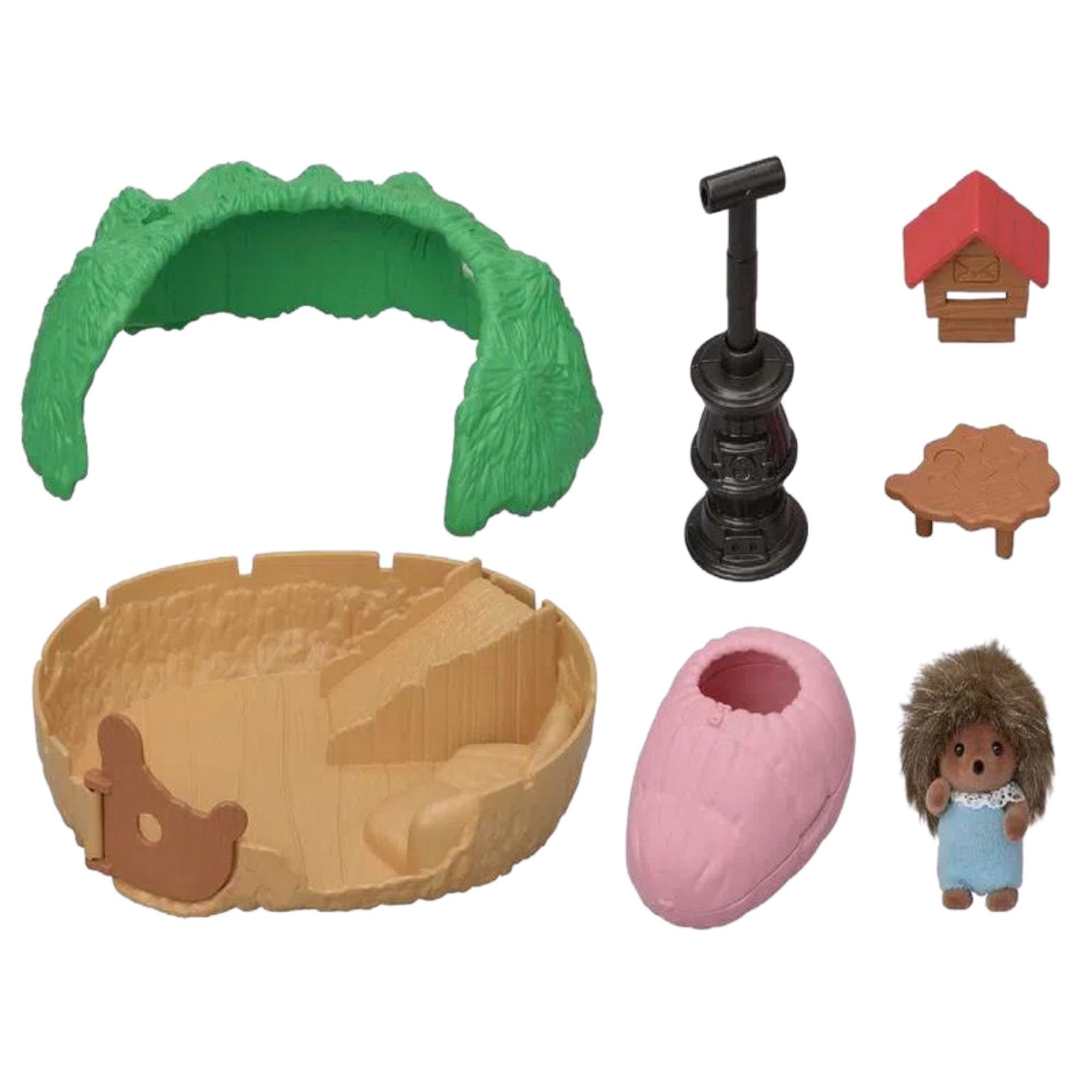 Sylvanian Families Esconderijo do bebê porco-espinho Epoch 5453  - Game Land Brinquedos