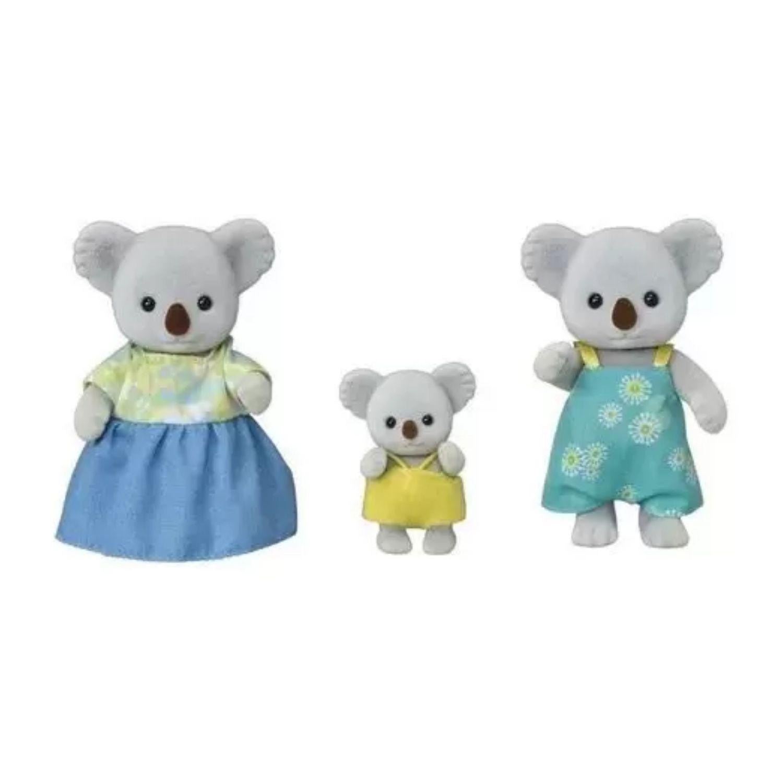 Sylvanian Families Família dos Coalas 5502P Epoch  - Game Land Brinquedos