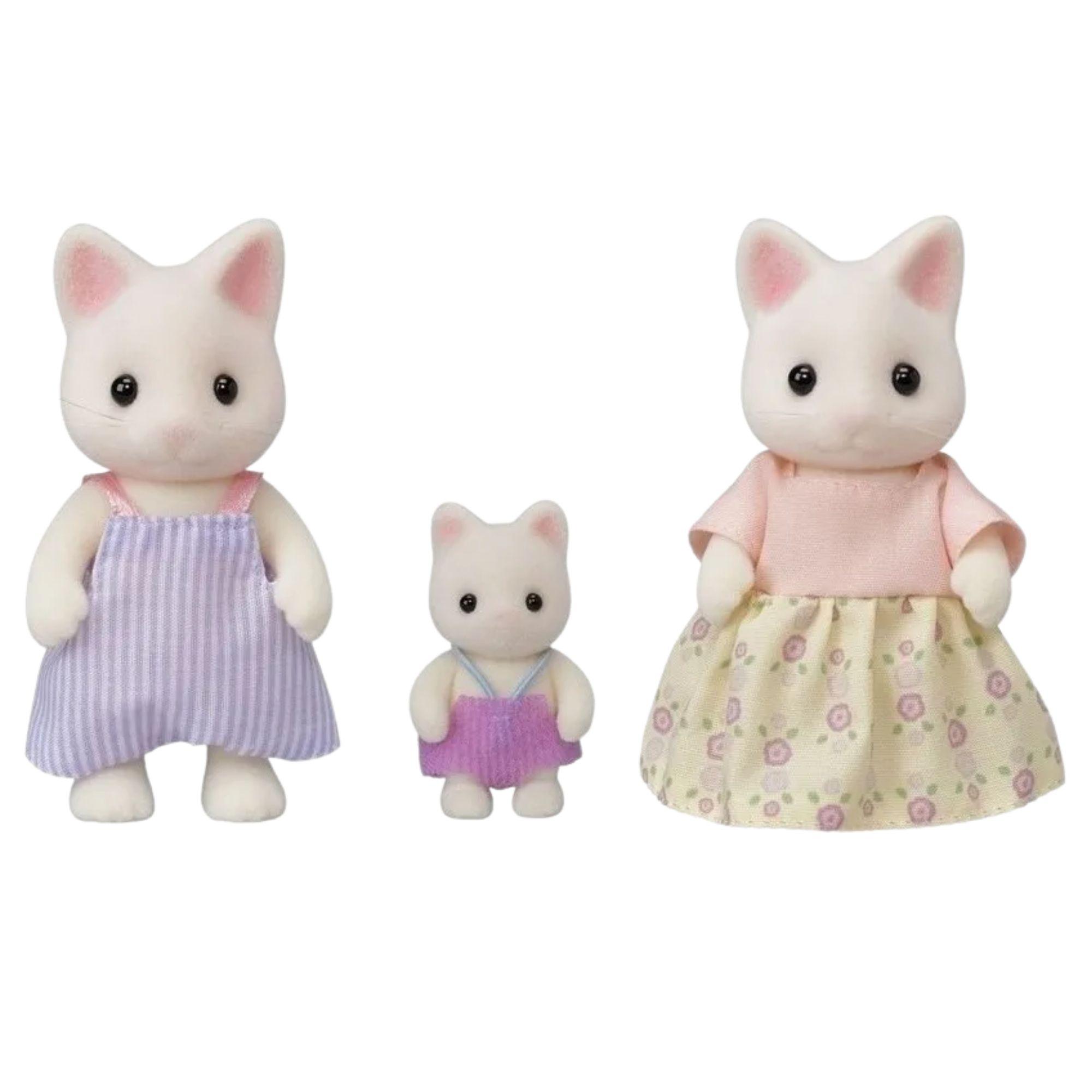 Sylvanian Families Família dos Gatos Primavera 5373 Epoch  - Game Land Brinquedos