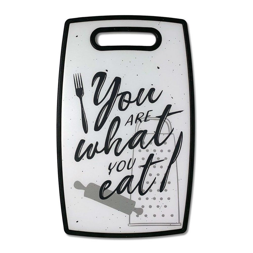 Tabua de Corte Frase Divertida You Are What Eat Tabua de Cozinha  - Game Land Brinquedos