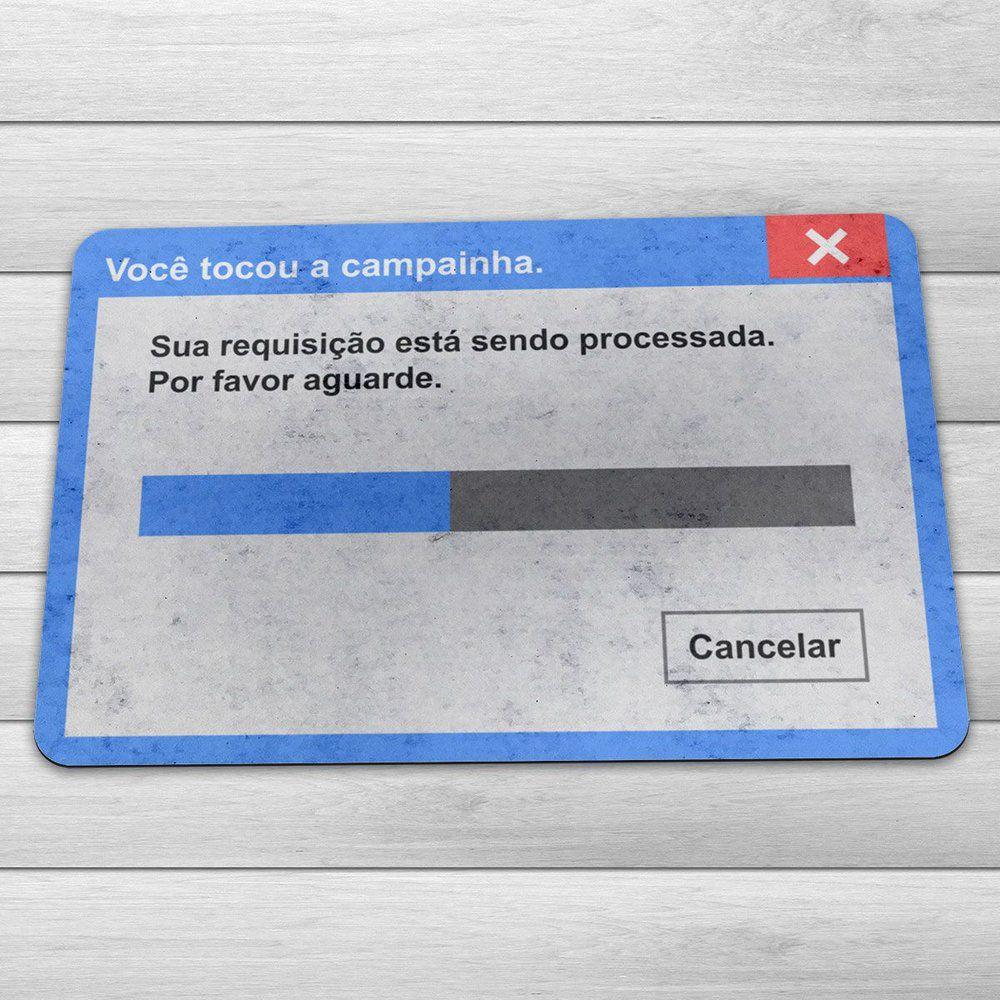 Tapete de Porta Mensagens Divertidas Capacho Ecológico  - Game Land Brinquedos