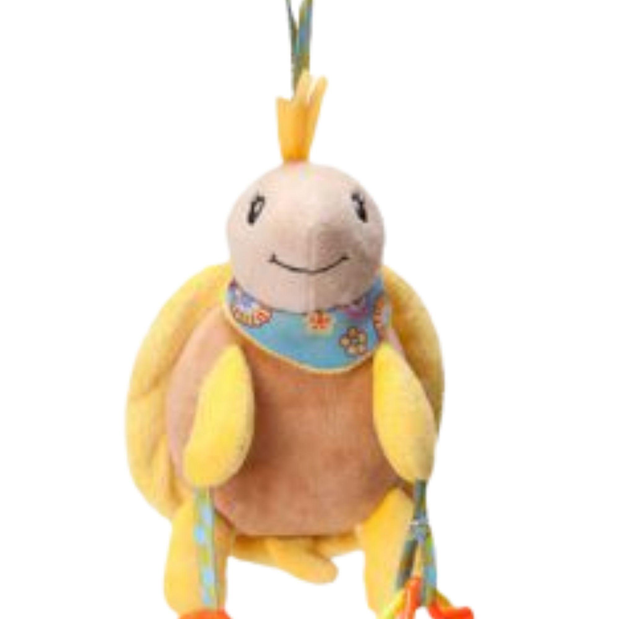 Tartaruga Brinquedo para bebê Chocalho Mordedor   - Game Land Brinquedos