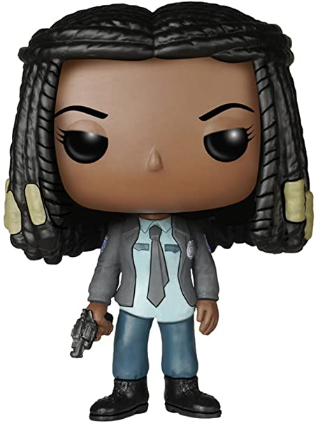 The Walking  Dead Funko Pop Michonne 307  - Game Land Brinquedos