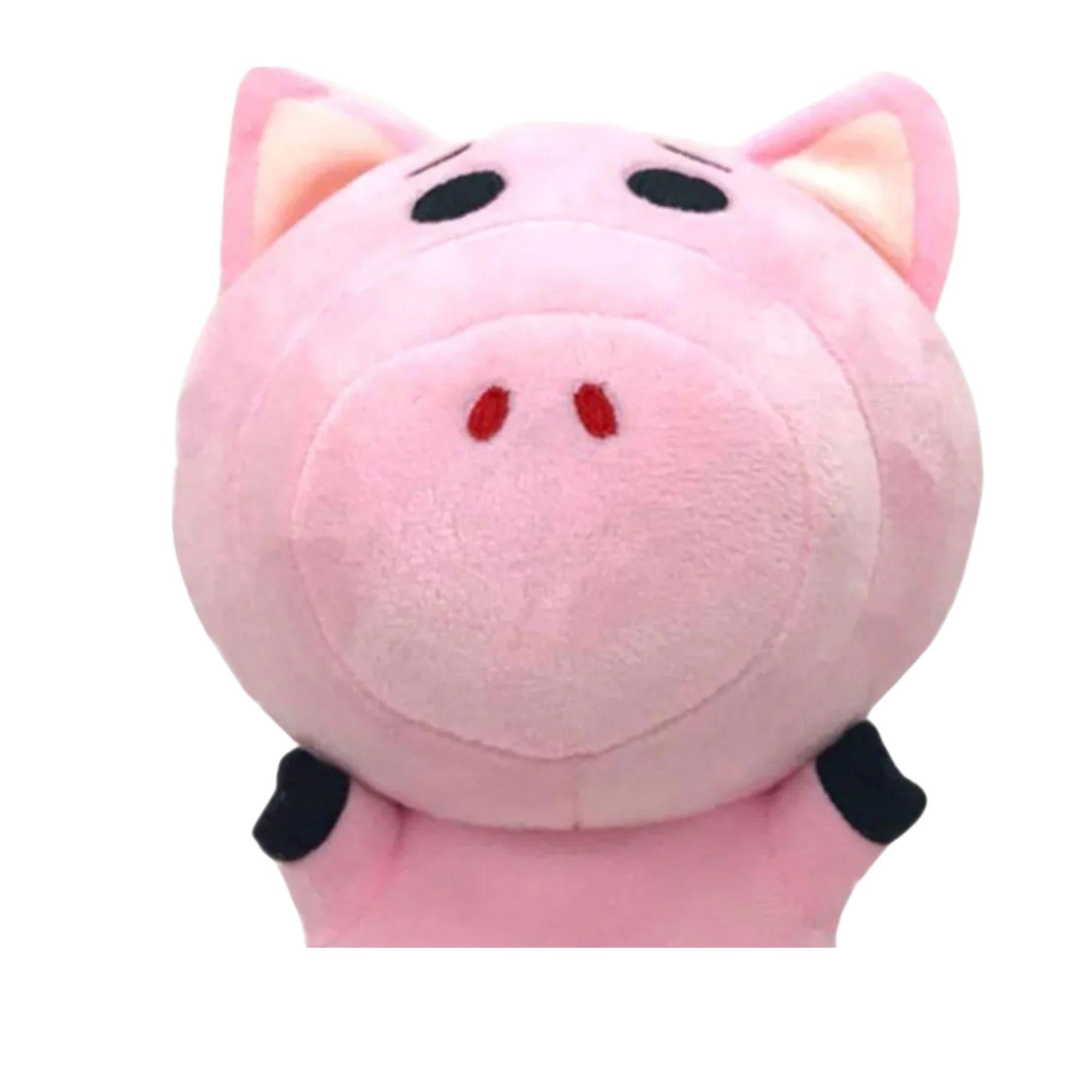 Toy Story Pelúcia Ham Porquinho Toy Story   - Game Land Brinquedos