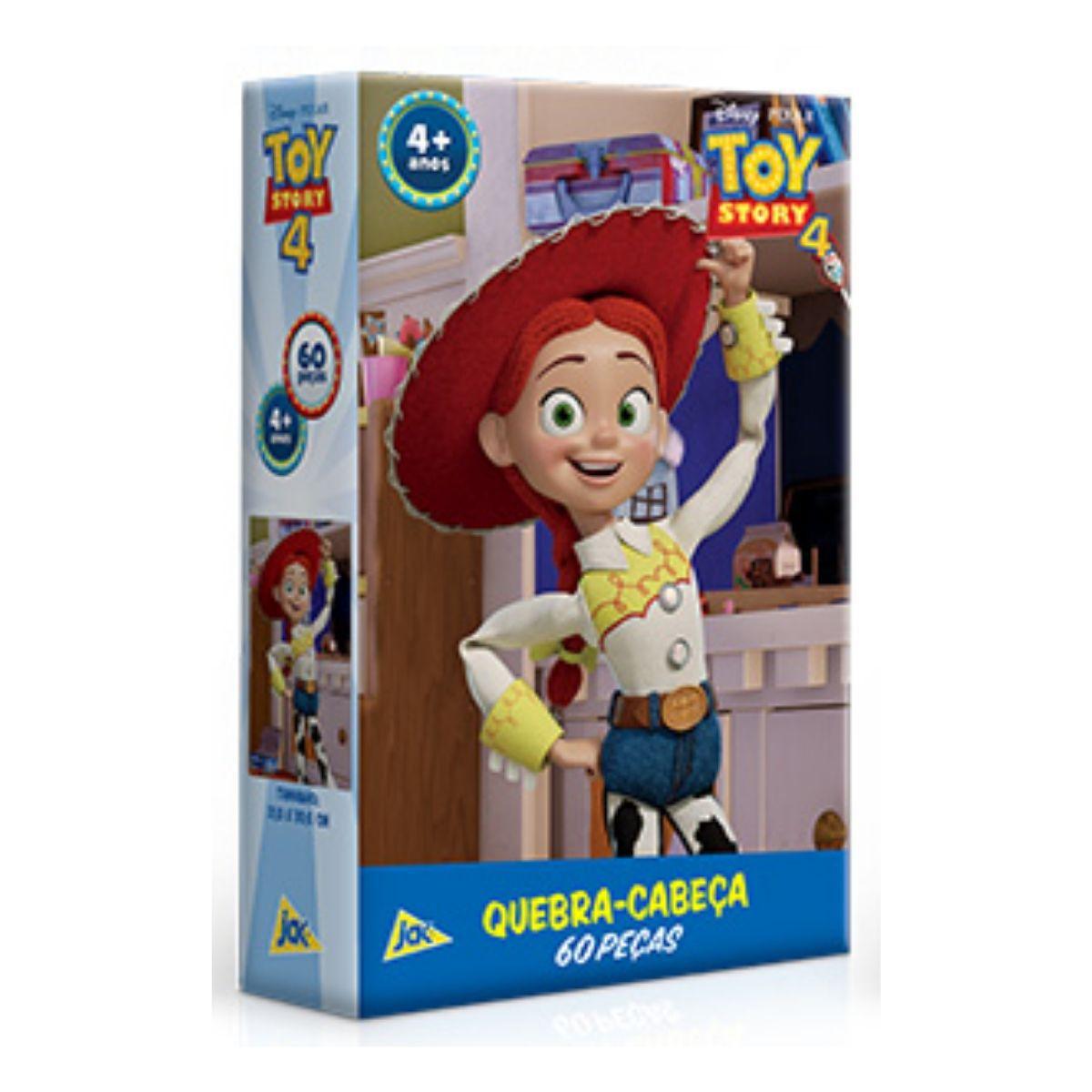 Toy Story Quebra Cabeça Infantil 60 peças Jessie  - Game Land Brinquedos