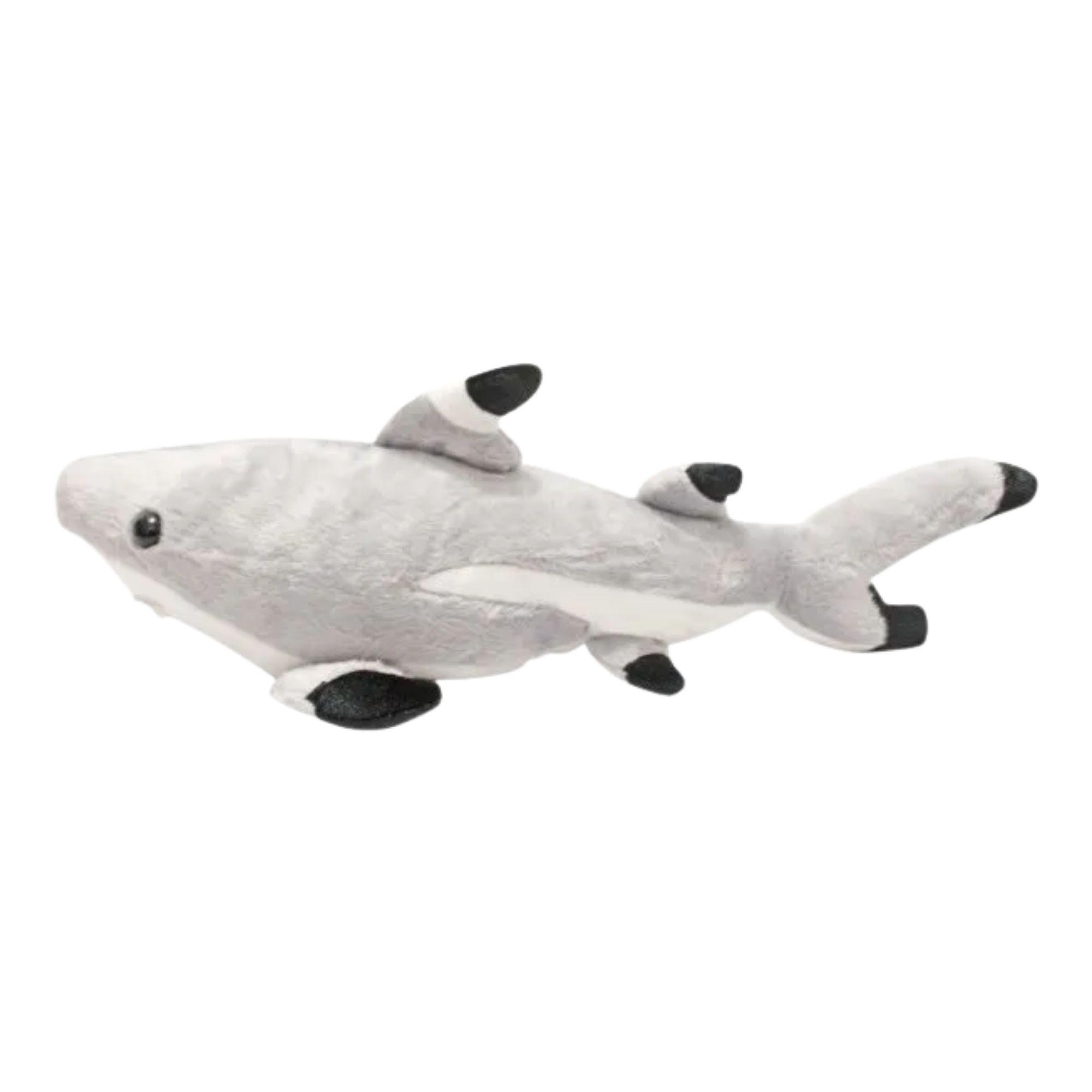 Tubarão Bicho de Pelucia 55 cm  - Game Land Brinquedos