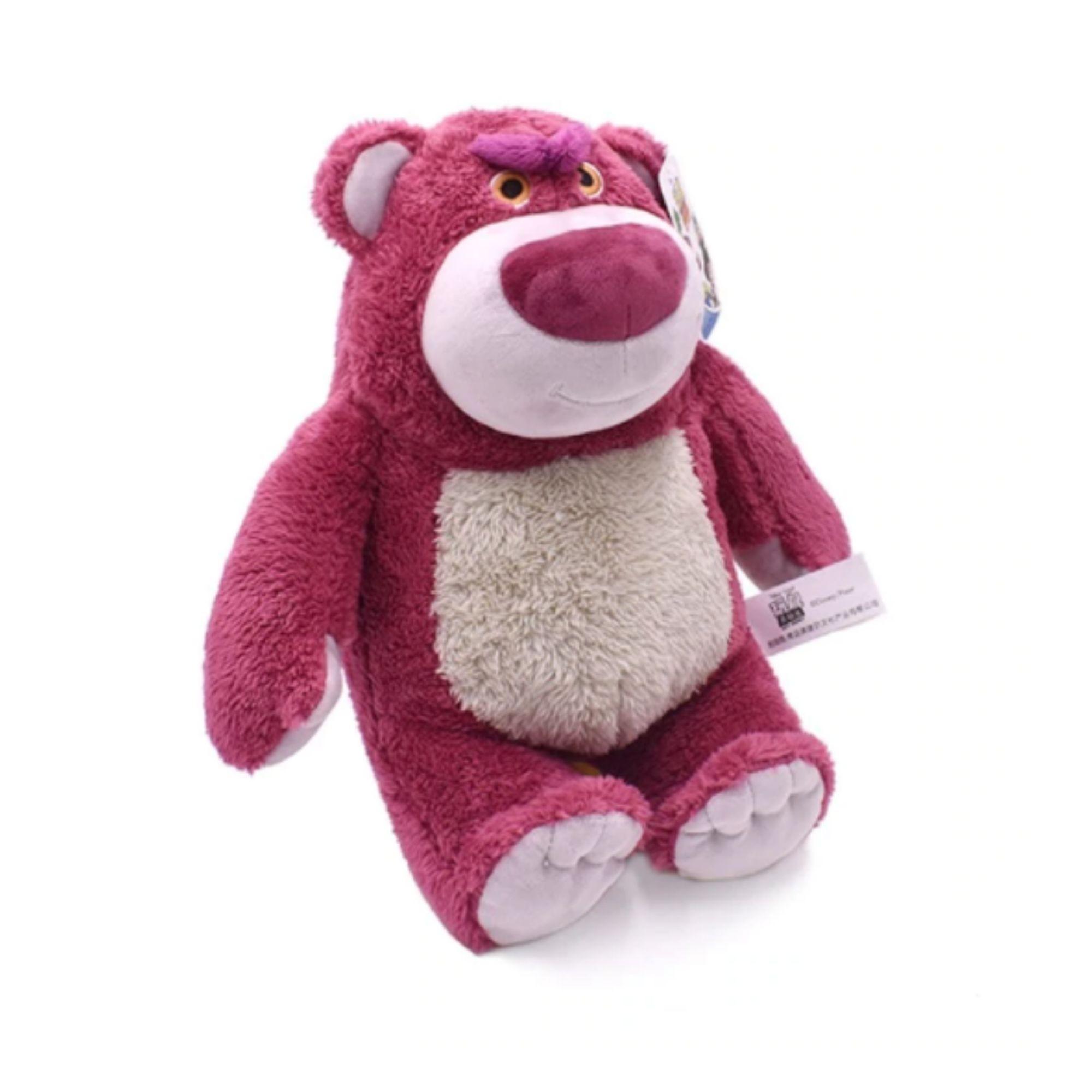 Urso de Pelucia Lotso Toy Story com cheiro de morango 21 cm  - Game Land Brinquedos