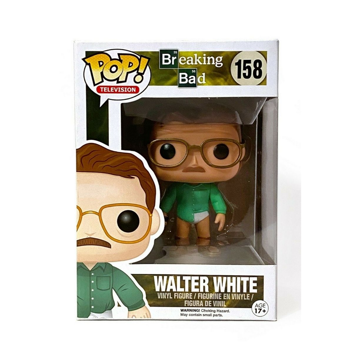 Walter White Funko Pop Breaking Bad #158  - Game Land Brinquedos