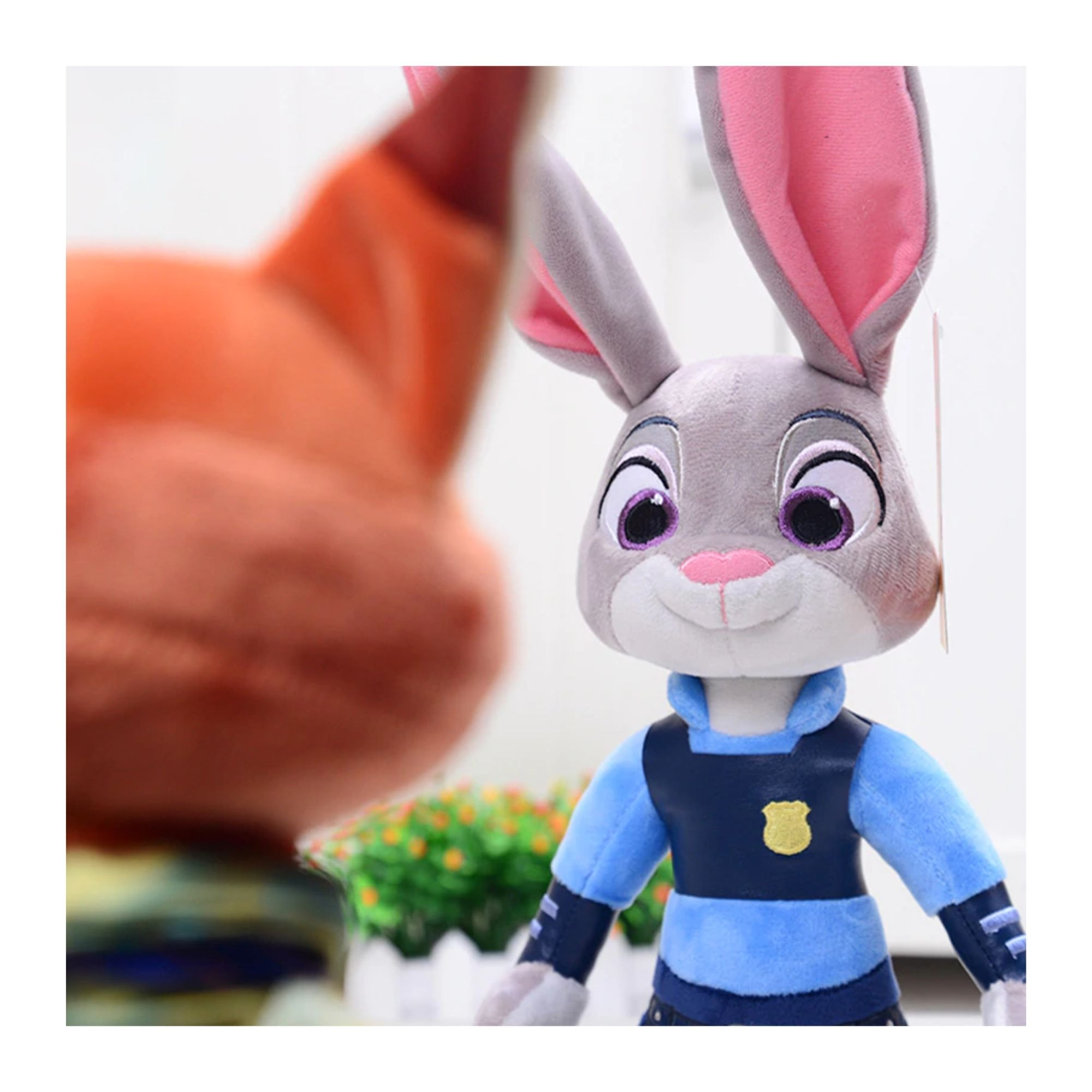 Zootopia Pelucia Judy Hopps - 40 cm  - Game Land Brinquedos
