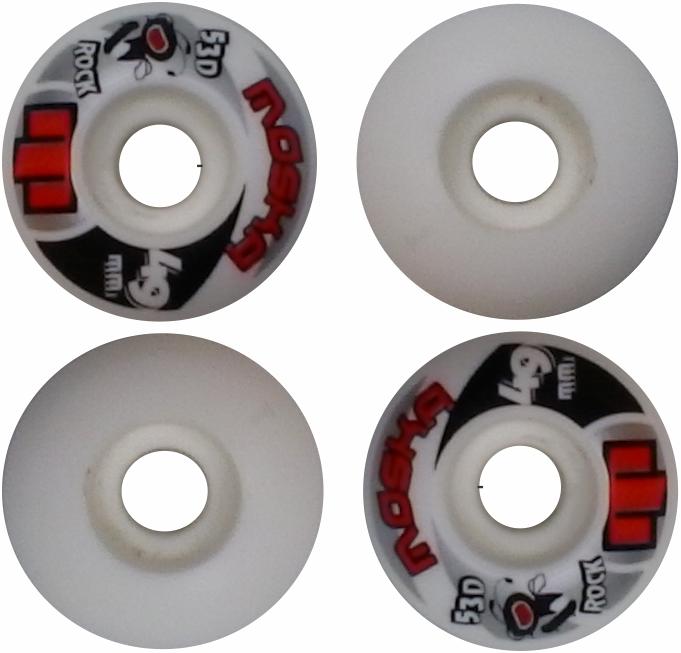 Roda Moska Skate 49 mm Branca