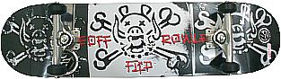Skate Montado Profissional - FLIP P2/METALUN/MOSKA - ABEC 15