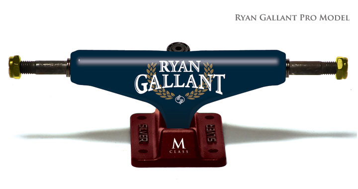 Truck SILVER Pró M  Ryan Gallant - 8.0