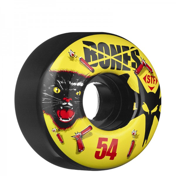 Roda BONES - 54 mm - Black Cats