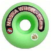 Roda Moska 55 mm - Verde