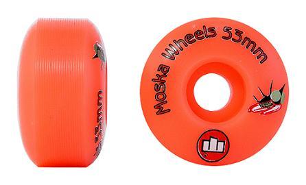 Roda Moska Skate 53 mm - Laranja