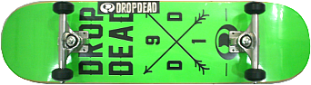 Skate Montado Profissional 14 - Drop/Metalun/Moska- Abec  9