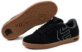 a44b7f9545 Tênis ETNIES Fader Ls Black GumTênis de SkateFader LsLoja de skate ...