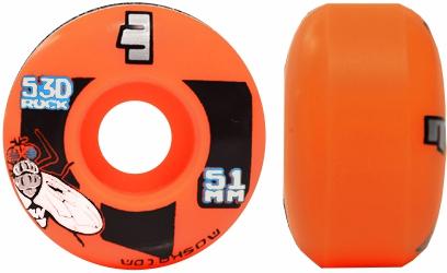 Roda Moska Skate 51 mm  Laranja