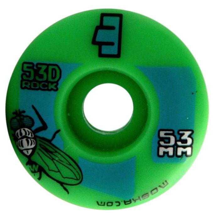 Roda Moska Skate 53 mm Verde
