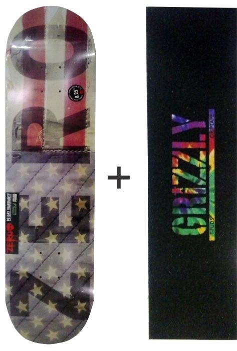 Shape Zero Importado de Maple Thomas Brinde Lixa Grizzly Tie die