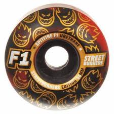 Roda SPITFIRE -  54 mm -  F1 - SB BLK/RED