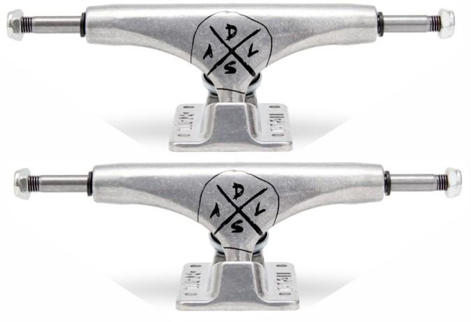 Truck Crail Skate Silver LOW 129 mm Dsal