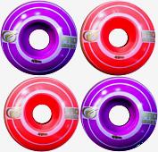 Roda Parts 49 mm - Roxo/Laranja