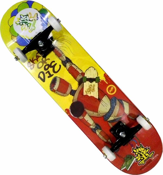 Skate Completo Montado Iniciante Woodligth 2