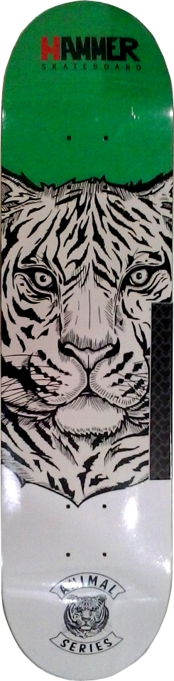 "Shape Hammer Tigre 7.75"""