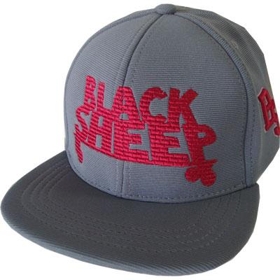 Boné Black Sheep snapback cinza