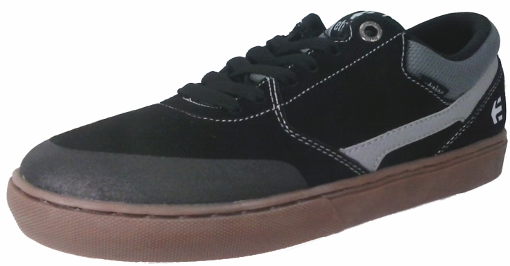Tênis ETNIES Rap CL David Reyes Black/Grey/Gum Preto