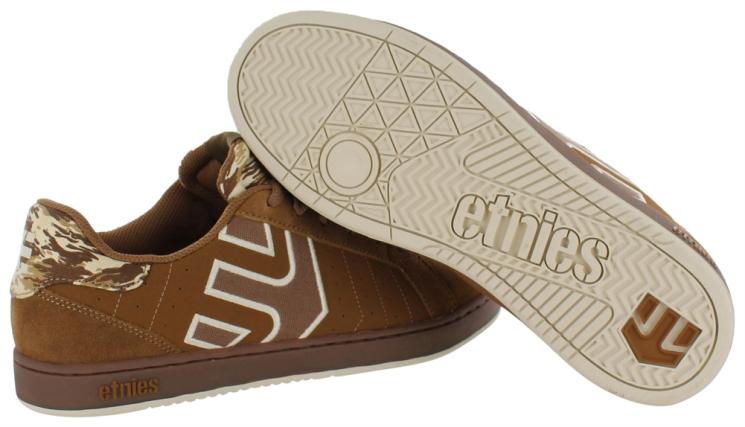Tênis ETNIES Fader LS Brown/Gum