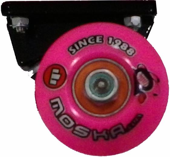 Skate Feminino Montado Completo Profissional Abec 11 Cisco-Moska-Parts