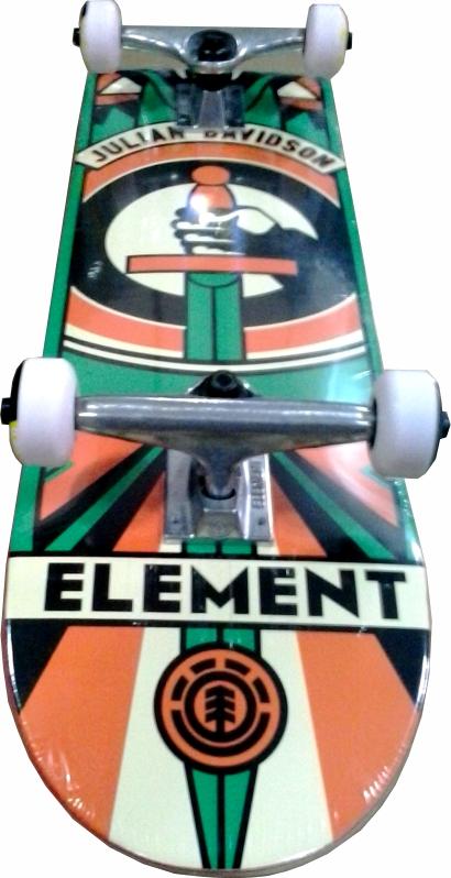 Skate Element Street Montado Completo Julian Totem 8.0
