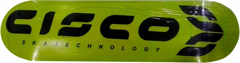Shape Cisco FN+R Logo Oficial Preto/Verde