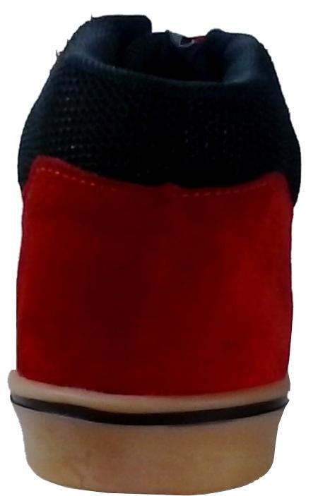 Tênis DUAL Mid A1Skate Vermelho