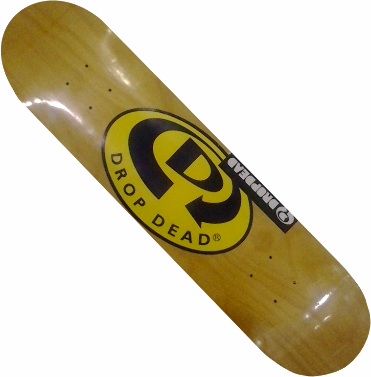 Shape Drop Dead Classic Logo Madeira