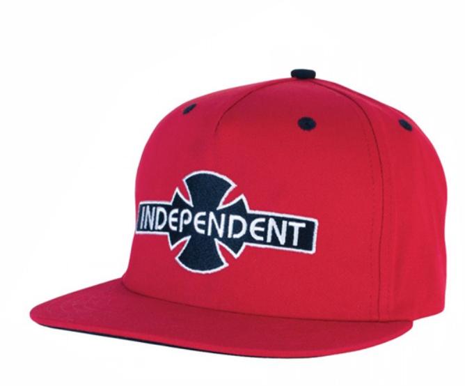 Boné Independent OGBC vermelho