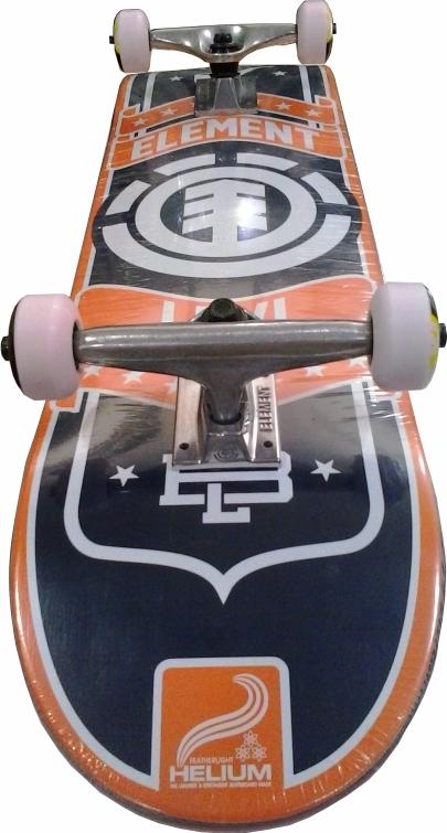 Skate Element Street Montado Completo Levi Helium