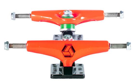 Truck de Skate Your Face Laranja Neon