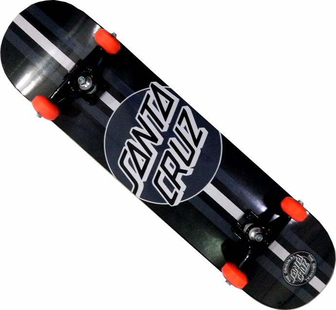 Skate Santa Cruz Montado Completo Line/Moska/Parts Abec 11