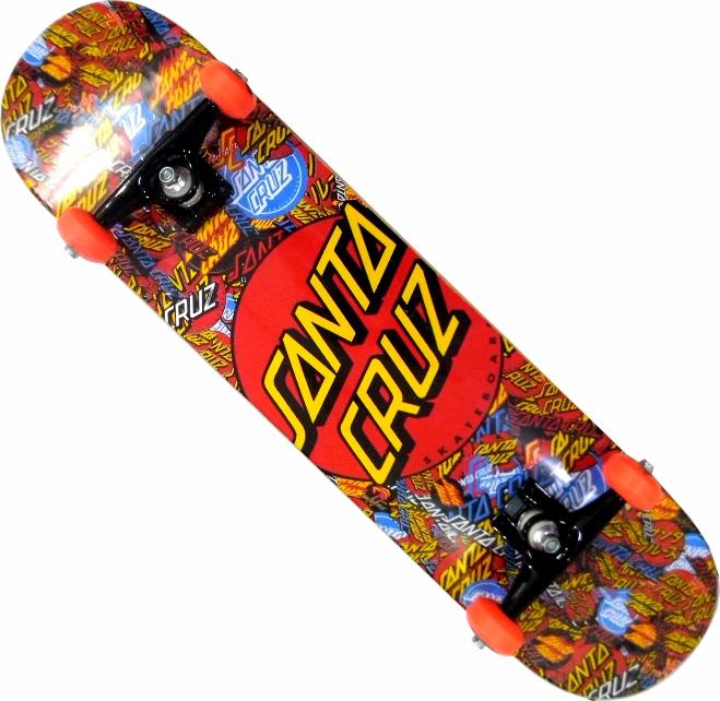 Skate Santa Cruz Montado Completo Mash/Moska/Oficina Abec 11