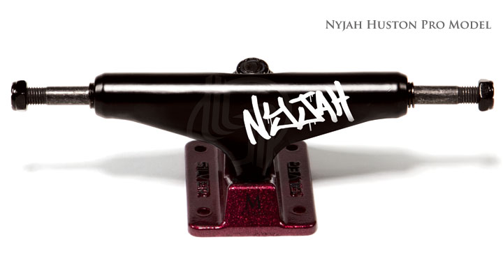 Truck SILVER- Nyjah Blackout - 7.75